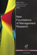 New Foundations of Management Research De Albert David, Armand Hatchuel et Romain Laufer - Presses des Mines - Transvalor
