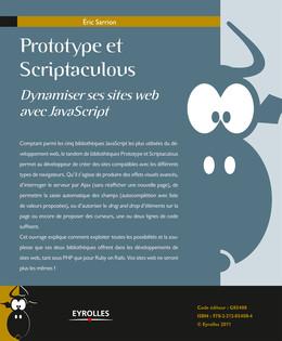 Prototype et Scriptaculous - Eric Sarrion - Eyrolles