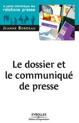 Le dossier et le communiqué de presse - Jeanne Bordeau - Eyrolles