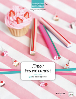 Fimo : Yes we canes ! -  La Petite Epicerie - Eyrolles