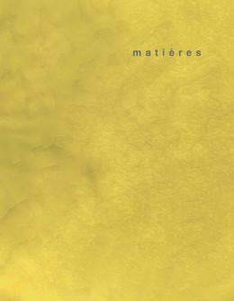 matières 2 - Alberto Abriani, Jacques Gubler, Jacques Lucan, Bruno Marchand, Martin Steinmann - Presses Polytechniques et Universitaires Romandes (PPUR)