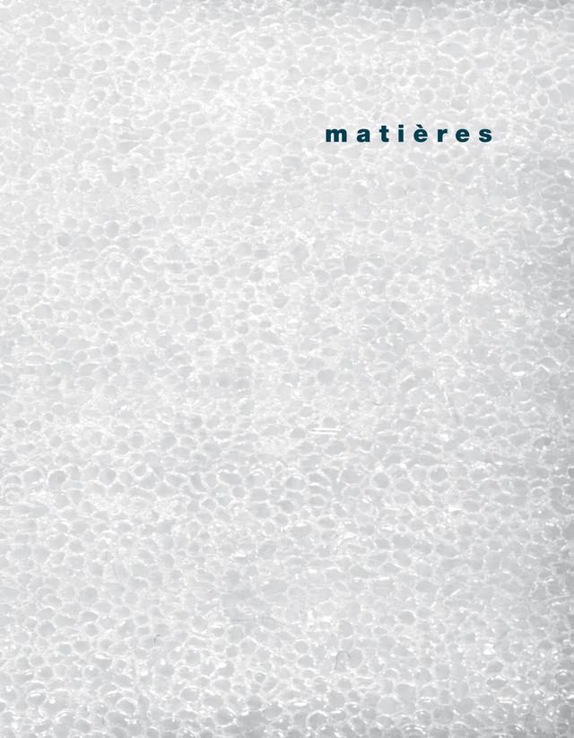 matières 4 - Alberto Abriani, Jacques Gubler, Bruno Marchand, Martin Steinmann - Presses Polytechniques et Universitaires Romandes (PPUR)
