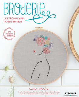 Broderie -  Caro Tricote - Eyrolles