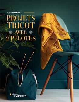 Projets tricot avec 2 pelotes - Anne Bermond - Eyrolles