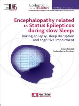 Encephalopathy related to Status Epilepticus during slow Sleep - Guido Rubolli, Carlo-Alberto Tassinari - John Libbey