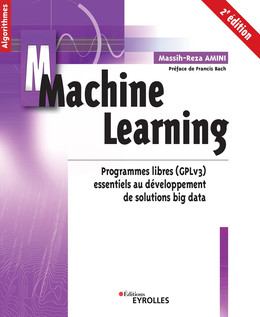 Machine learning - 2e édition - Amini Massih-Reza - Eyrolles