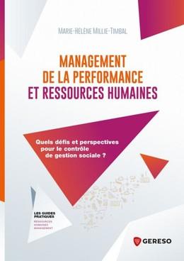 Management de la performance et ressources humaines - Marie-Hélène Millie-Timbal - Gereso