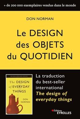 Le design des objets du quotidien - Don Norman - Eyrolles