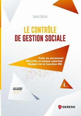 Le contrôle de gestion sociale - Emilie Collin - Gereso